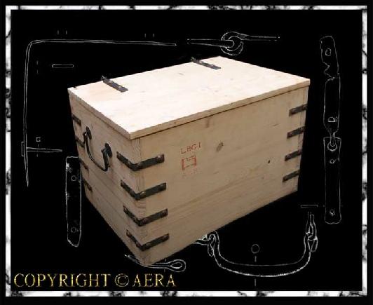 Caisses de transport romaines